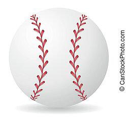 baseball ball vector illustration