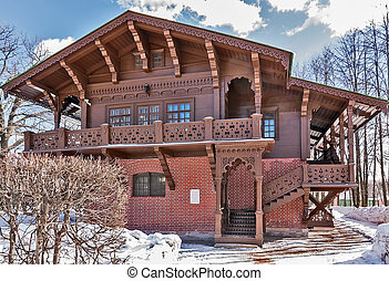 Kuskovo, Moscow - The Swiss small house in Kuskovo estate in...