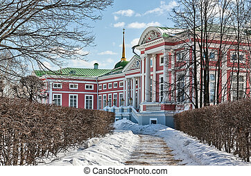 Kuskovo, Moscow - The palace of Kuskovo was designed in the...