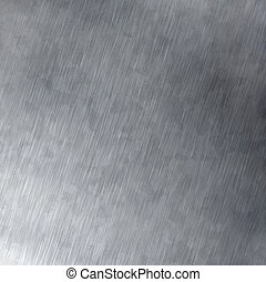Silver Brushed Anodized Metal - Anodized looking brushed...