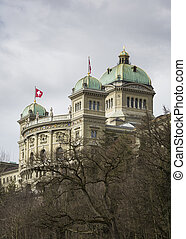Bundeshaus - The Swiss government building Bundeshaus or...