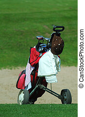 golf, chariot
