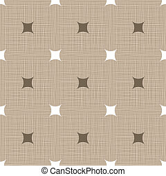 Seamless retro pattern. Linen. Vintage background. Vector...