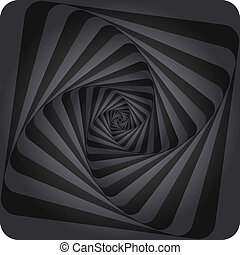 Abstract Spiral Background. Vector eps10