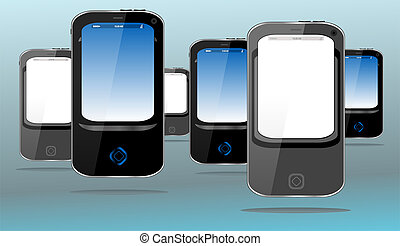 Touch screen, pda, mobile phone and smart phone set