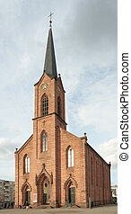 Lutheran Church of Peace, Kehl, Germany (1874)