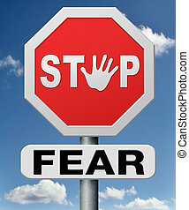 stop fear or being afraid for snakes height needles spiders...