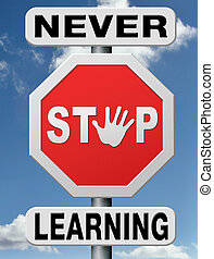 never stop learning - lifelong learning online adult...