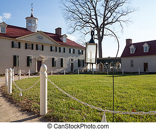 George Washington house Mount Vernon - President George...
