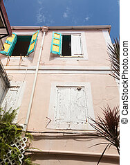 Camille Pissarro house in Charlotte Amalie - Old house in...