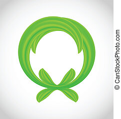 Eco friendly icon isolated
