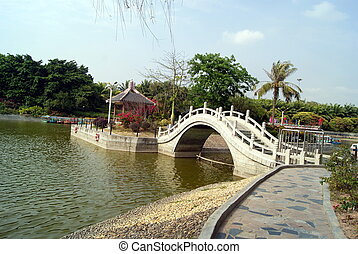 Zhongshan park in shenzhen, in China
