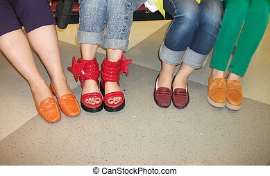 Eye-catching Fashion Shoes - Recently I met some Chinese...