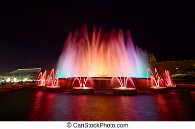 Magic Fountain of Montjuic, Barcelona