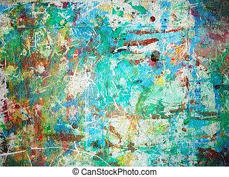 abstratos, aquarela