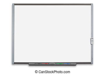 Interactive whiteboard isolated