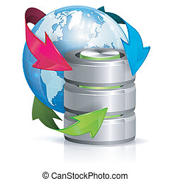 Global Access and Backup Concept - Backup Concept with...