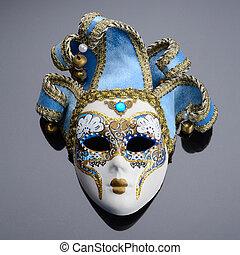 Isolated Fantasy Mask