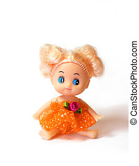 girl baby doll - blonde girl baby doll with blue eyes...