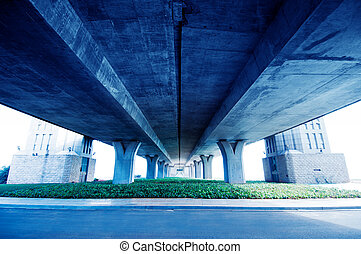 Viaduct - Intercontinental transportation system viaduct, no...