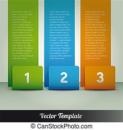 Modern design template vector - Modern design template can...