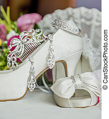 bridal shoes and accessories - shoes and accessories are a...