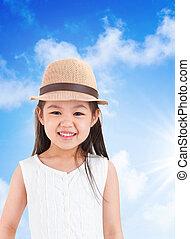 Adorable asian girl
