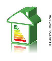 energy classification and house - house with energy...