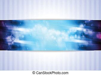 Elegant vector business background - Bright blueviolet...
