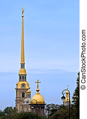 The main spire of the Peter and Paul fortress Sights Of...