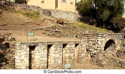 Inca ruins in Cuenca, Ecuador
