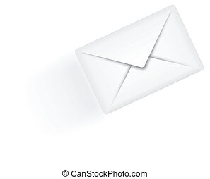 Sending email vector illustration - sending email envelope...