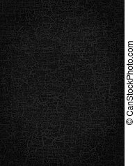 abstract black background or texture craquelure