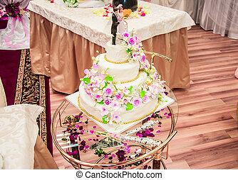 Tårta, bröllop