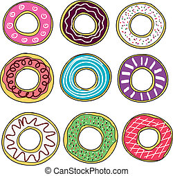 Donuts collection