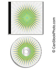 Cd and cover burst design