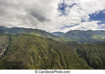 lanscape of the Andes