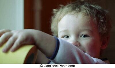 Kid's smile.