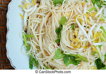 Stir fried noodles - Chinese food