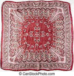 red turkish scarf