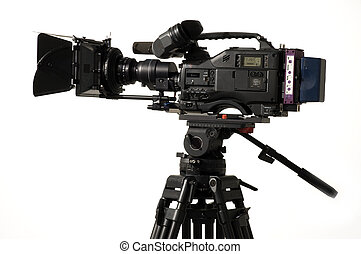 Professional digital video camera. - Professional digital...