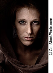 Making strong eye contact - Studio portrait of a cute and...