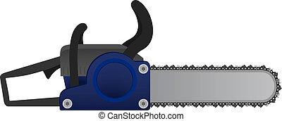 Icon chainsaw - Creative design of icon chainsaw