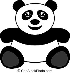 Panda bear - Creative design of panda bear