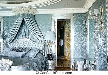 BAKU, AZERBAIJAN - JUNE 11: Ambassador suite of Jumeirah...