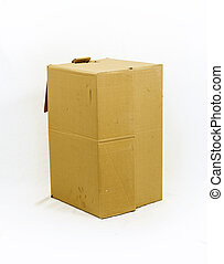Corrugated Box with Path