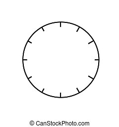 clock graphic vector eps10
