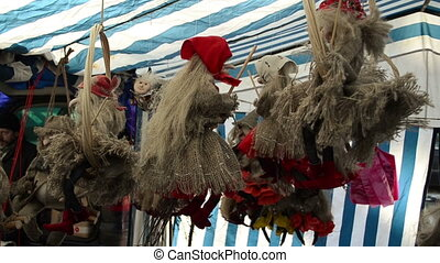 witch broom sale fair - fair exposition of witches on brooms...