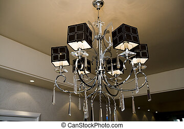 Modern chandelier - Beautiful and dear modern chandelier in...