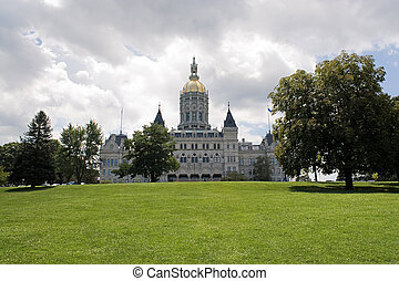 Hartford Capitol Building - The golden-domed capitol...